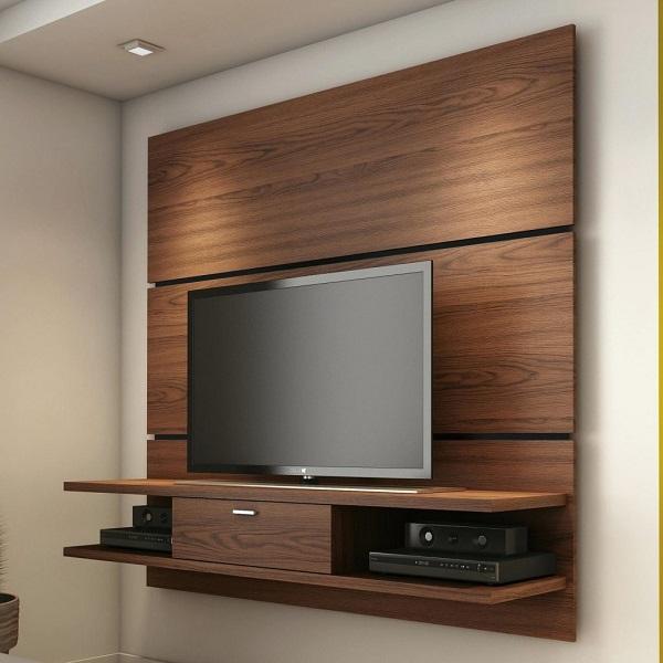 ديكور تلفزيون خشبي
