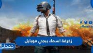 زخرفة اسماء ببجي موبايل باللغة العربية والإنجليزية
